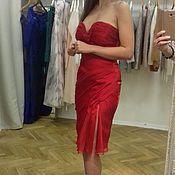 Одежда handmade. Livemaster - original item Evening corset dress with drape.. Handmade.