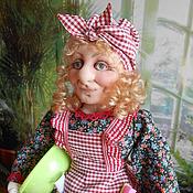 Куклы и игрушки ручной работы. Ярмарка Мастеров - ручная работа Хозяюшка  (текстильная кукла). Handmade.