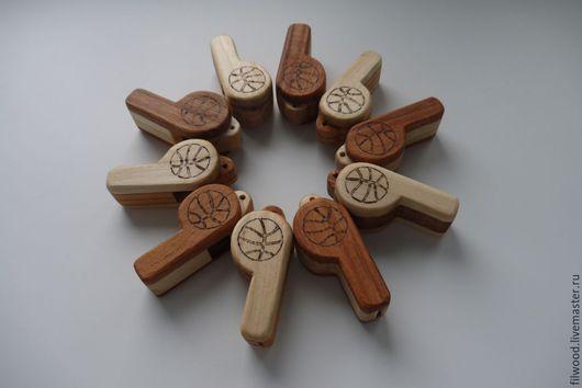 Духовые инструменты ручной работы. Ярмарка Мастеров - ручная работа. Купить Свисток. Handmade. Свисток, дерево