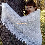 Аксессуары handmade. Livemaster - original item Handkerchief openwork down Gift. Handmade.
