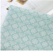 Материалы для творчества ручной работы. Ярмарка Мастеров - ручная работа Корейский хлопок ткани-компаньоны Королевский голубой. Handmade.