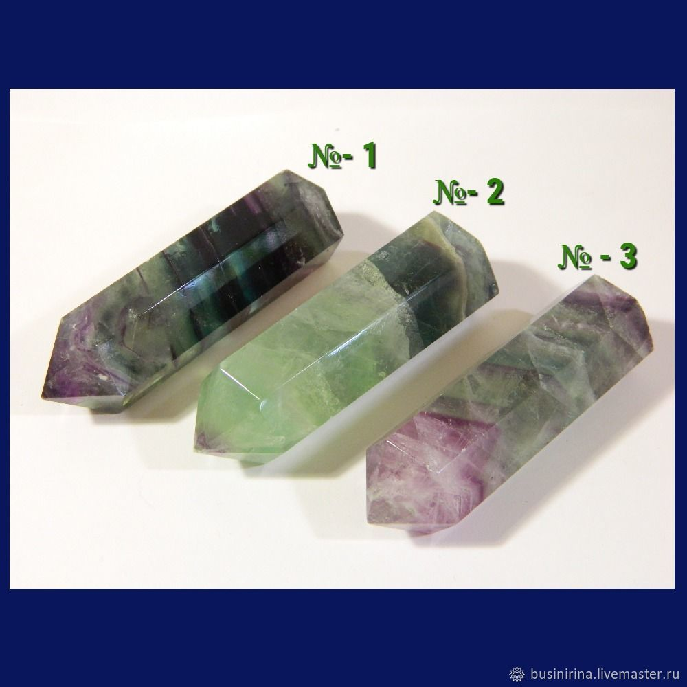 Pencil fluorite 1 and 2 SOLD!. PCs (K04), Cabochons, Saratov,  Фото №1