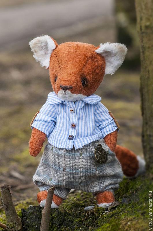 Мишки Тедди ручной работы. Ярмарка Мастеров - ручная работа. Купить Лисенок. Handmade. Рыжий, игрушка, вискоза