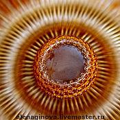 Украшения ручной работы. Ярмарка Мастеров - ручная работа ожерелье Янтарное Солнце. Handmade.