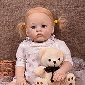 Куклы и игрушки handmade. Livemaster - original item Doll, reborn baby girl Cutie. Handmade.