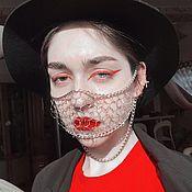 Защитные маски ручной работы. Ярмарка Мастеров - ручная работа Кольчуга для защиты от коронавируса. Handmade.