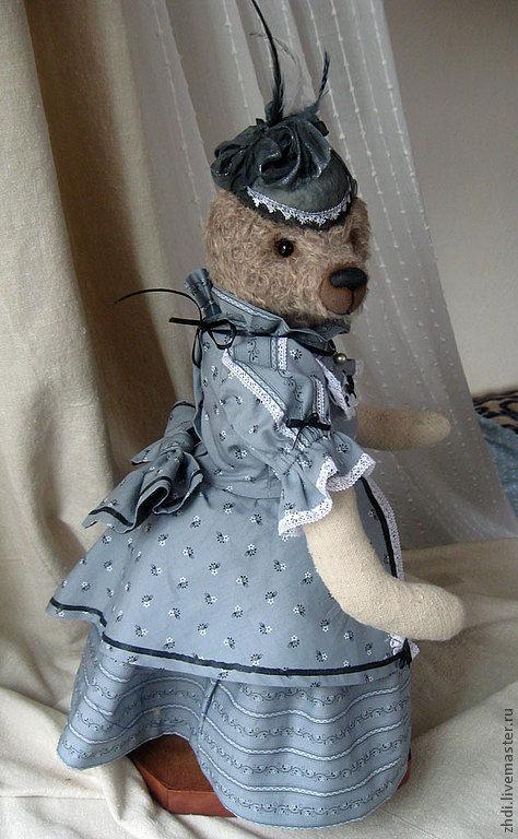 Одежда для кукол ручной работы. Ярмарка Мастеров - ручная работа. Купить одежда для мишек Тедди -Леди. Handmade. Кремовый