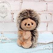 Куклы и игрушки ручной работы. Ярмарка Мастеров - ручная работа Тедди ежик Тим. Handmade.