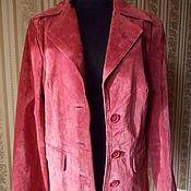 Куртка- пиджак. Essentie. Натуральная замша.