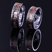 """Свадебный салон ручной работы. Ярмарка Мастеров - ручная работа Обручальное кольцо """"Готическое"""". Handmade."""