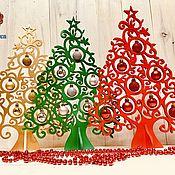 Подарки к праздникам handmade. Livemaster - original item The Christmas tree. Handmade.