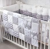 Для дома и интерьера handmade. Livemaster - original item quilt - bedspread. Handmade.