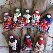Куклы и игрушки ручной работы. Ярмарка Мастеров - ручная работа Народная кукла-оберег Подорожница. Handmade.