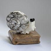 """Для дома и интерьера ручной работы. Ярмарка Мастеров - ручная работа """"Умная улитка"""" из камня. Handmade."""
