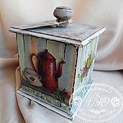 Для дома и интерьера ручной работы. Ярмарка Мастеров - ручная работа Кофейный короб. Handmade.