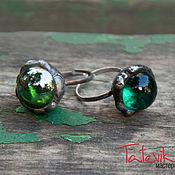 "Rings handmade. Livemaster - original item Колечко ""Маленький мир. Бирюзовый"" По задумке Ольги Пулен. Handmade."