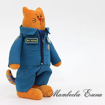 Кот генерал МЧС