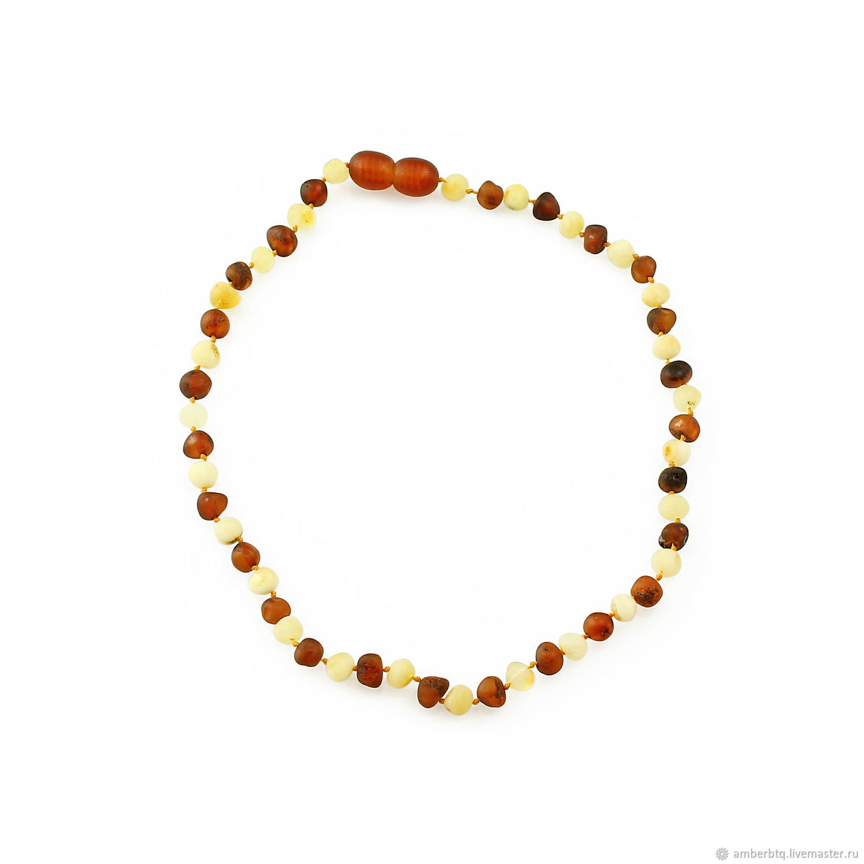 Children's beads made of natural amber 'meteor», Beads2, Kaliningrad,  Фото №1