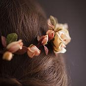 """Свадебный салон ручной работы. Ярмарка Мастеров - ручная работа Венок из кустовых роз)""""Rosa"""". Handmade."""