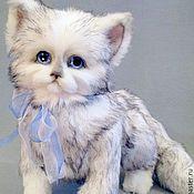 Куклы и игрушки ручной работы. Ярмарка Мастеров - ручная работа кот Тимошка. Тедди. Handmade.