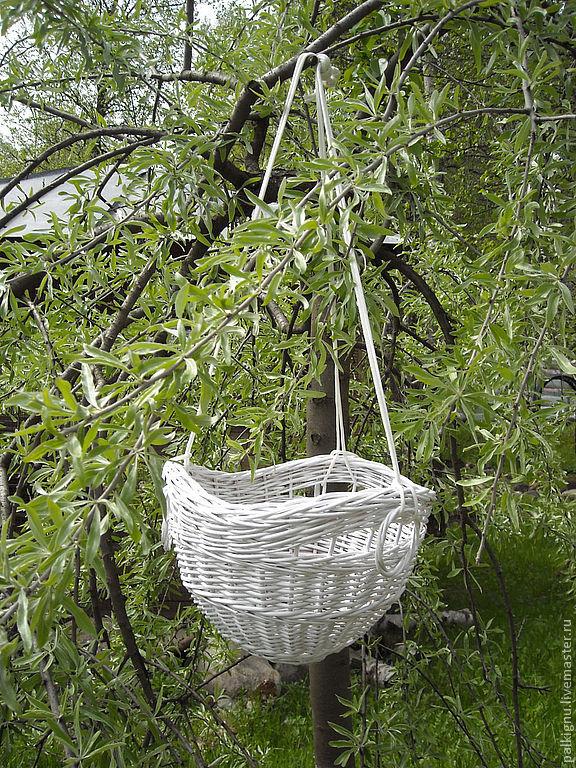 """Кашпо для цветов """"Весна""""подвесное"""
