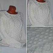 Одежда handmade. Livemaster - original item Jumper White. Handmade.