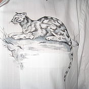 Одежда ручной работы. Ярмарка Мастеров - ручная работа дикая кошка. Handmade.