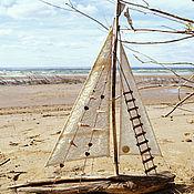 Для дома и интерьера ручной работы. Ярмарка Мастеров - ручная работа кораблик большой. Handmade.