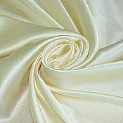 Ткани ручной работы. Ярмарка Мастеров - ручная работа Атласный шелк с эластаном, Италия. Handmade.