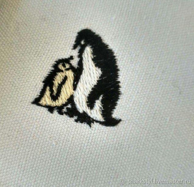 Вышивка пингвин купить