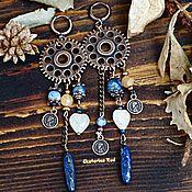 handmade. Livemaster - original item Beautiful steampunk earrings with