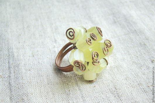 кольцо перстень ( опал) Богемия авторские украшения. ручная работа