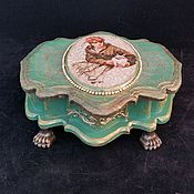 Для дома и интерьера handmade. Livemaster - original item Jewelry box ,,Female boudoir,. Handmade.