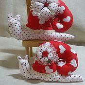 Tilda Dolls handmade. Livemaster - original item Tilda Doll Snail Handmade. Handmade.