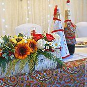 Свадебный салон ручной работы. Ярмарка Мастеров - ручная работа Комплект свадебных аксессуаров в русском стиле 2. Handmade.
