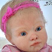 Куклы и игрушки ручной работы. Ярмарка Мастеров - ручная работа Авторская силиконовая кукла-реборн Ксения. Handmade.