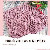 Материалы для творчества handmade. Livemaster - original item Diagram of the new pattern from Alize Puffy No. №69. Handmade.
