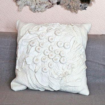 Stationery handmade. Livemaster - original item Decorative pillow case Dairy. Handmade.