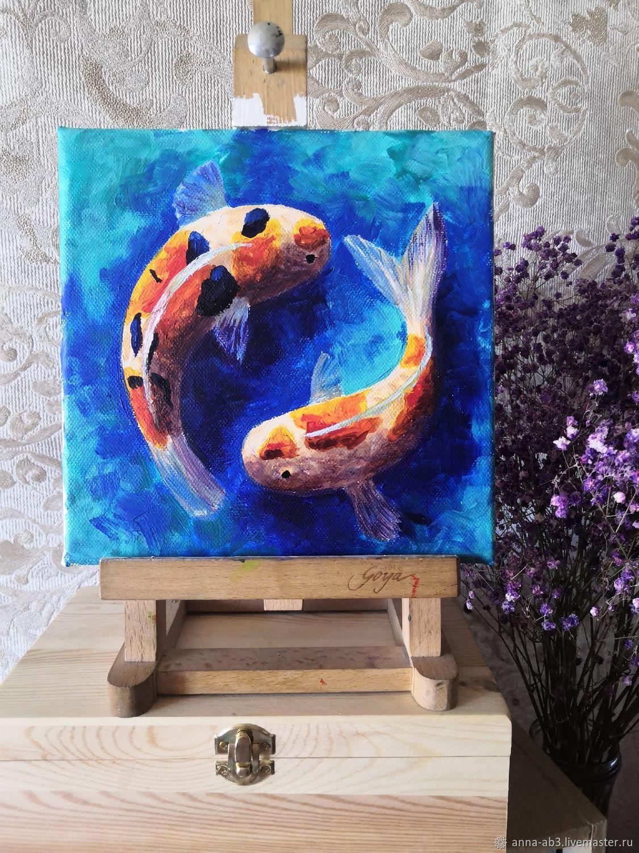 Рыбки Кои, Картины, Нижний Новгород,  Фото №1