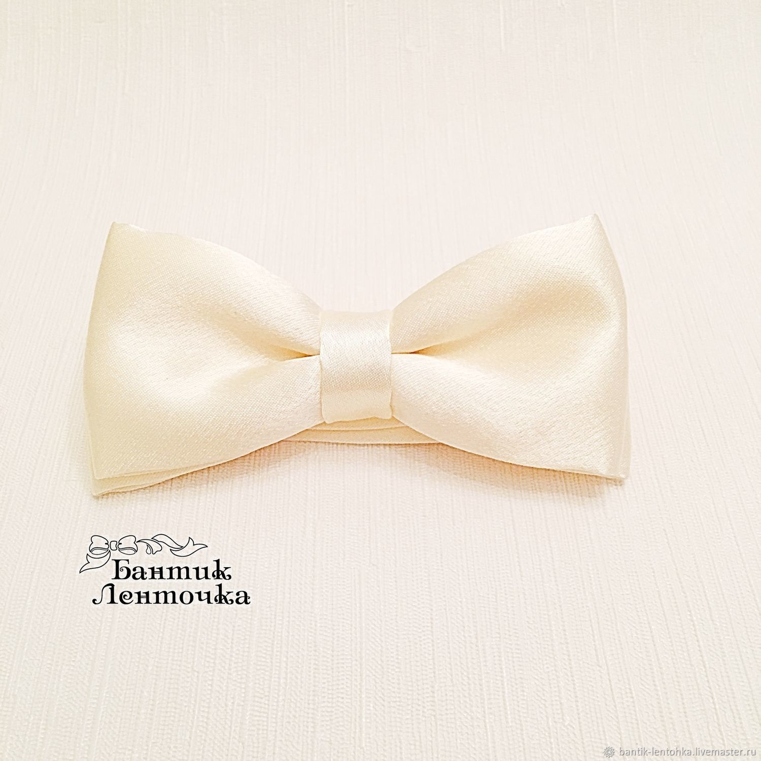 Tie for the groom 'ivory', Ties, Moscow,  Фото №1