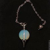 Фен-шуй и эзотерика handmade. Livemaster - original item Opal 40mm Gemstone Ball Pendulum Chakra Pendant. Handmade.