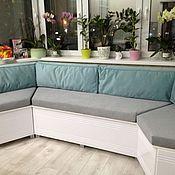 Для дома и интерьера ручной работы. Ярмарка Мастеров - ручная работа подушки для эркерного дивана. Handmade.