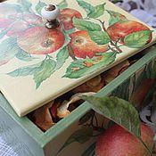Для дома и интерьера ручной работы. Ярмарка Мастеров - ручная работа Короб для хранения сухофруктов. Handmade.