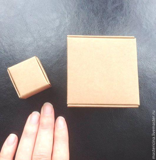 Упаковка ручной работы. Ярмарка Мастеров - ручная работа. Купить Коробочка для упаковки крафт. Handmade. Бежевый, коробка для мыла