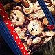 Рюкзаки ручной работы. Рюкзачок с медвежатами. Екатерина Дорохова. Ярмарка Мастеров. Лоскутная сумка, ткань хлопок