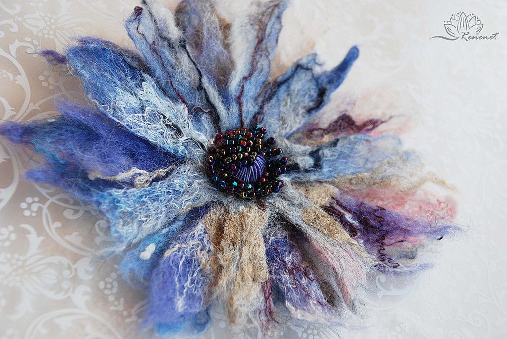 Цветы для Елены, Брошь-булавка, Смоленск,  Фото №1