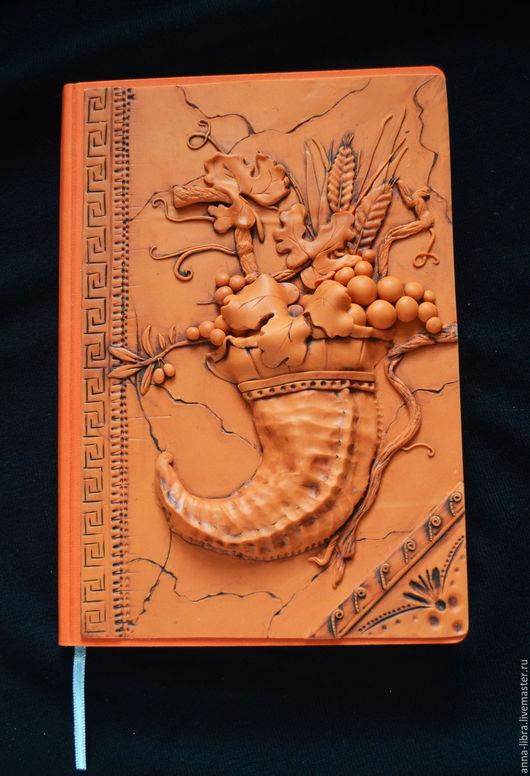 """Блокноты ручной работы. Ярмарка Мастеров - ручная работа. Купить Блокнот """"Рог изобилия"""". Handmade. Рыжий, мифология, блокнот в подарок"""
