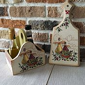 Для дома и интерьера ручной работы. Ярмарка Мастеров - ручная работа Набор для кухни. Handmade.