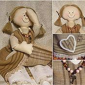 Куклы и игрушки ручной работы. Ярмарка Мастеров - ручная работа Текстильная кукла Элизабет. Handmade.