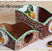 """Для дома и интерьера ручной работы. Ярмарка Мастеров - ручная работа Набор для кухни Набор  для кухни """"Your emotions"""".. Handmade."""